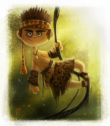 DAY 491. Sketch Dailies Challenge - Tarzan by Cryptid-Creations
