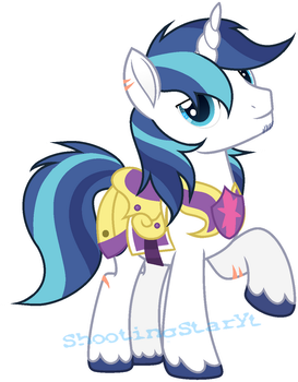 MLP Shining Armor (New) [Next Gen] by ShootingStarYT