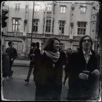 People in the street by pyramidhead82