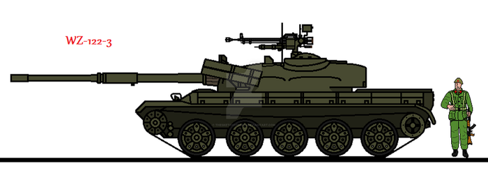 WZ-122-3 by thesketchydude13