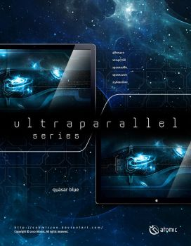 Ultraparallel Quasar Blue by submicron