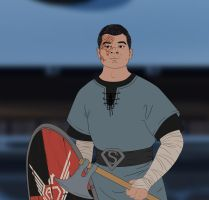 The Banner Saga: OtBP - AJSA Other Joe by EternalAnomaly