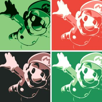 Super Mario Flying by DevintheCool