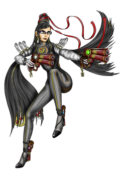 Bayonetta Fan Art by HarlandGirl