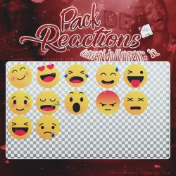 ~~.Pack de reacciones formato .png by ISirensDesigns
