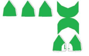 Luigi hat papercraft by scaly-green