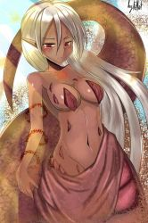 Sand lamia by Felliot