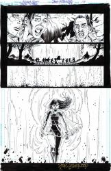TEEN TITANS #97-SOLSTICE Emerges 1/2 Pg Splash $50 by DRHazlewood