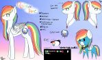 rainbow flare [REFERENCE] by wolfdrawing2