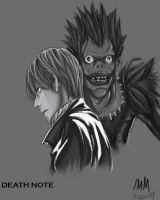DEATH NOTE by wiccimm