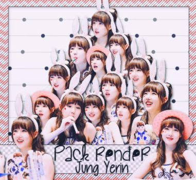 [160716][PACK RENDER] JUNG YERIN -  G-FRIEND by LuHannie1071999