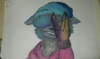 Oil pastels attempt by alice765