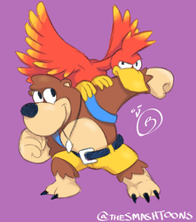 SGDQ Doodle: Banjo-Tooie by SmashToons