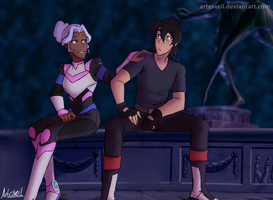 Voltron|Fanfic-Fanart|Kallura| I Won't Say It by ArtesVeil