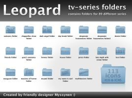 Leopard folders for TV-series by Myssynen