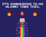It's Nyangerous To Go Alone! Take This! by xkappax