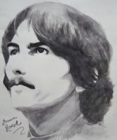 George Harrison by aruanahansel