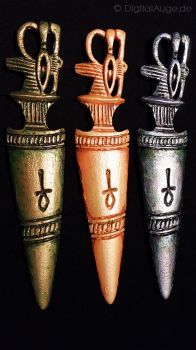 Egyptian artifacts Pesesh-kef wands Replic #5 by digitalAuge