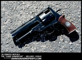 Custom Hellboy 'Good Samaritan' Replica Prop by JohnsonArmsProps