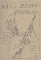 Fire Nation Firearms by sulanebouxi