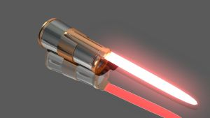 Lightsaber Gaunlet by HerbFeralisX