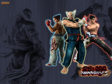 Mishima Clan Wallpaper by dsx100