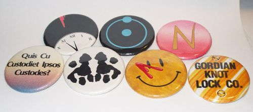 Watchmen Buttons by Frohickey
