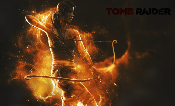 Tomb Raider 2013 Wallpaper by JAYOR