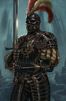 Black Guard of Morr by RadialArt