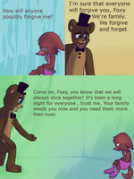 Fnaf silly comic - Foxys Pride part 27 by Maria-Ben