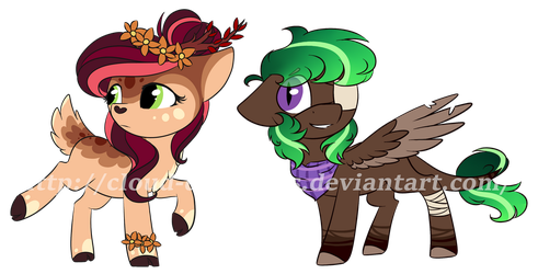 Pony Adopts - Auction [CLOSED] by Cloud-Drawings