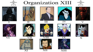 Mythic Hearts Organization XIII Meme by MarioFanProductions