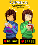 [UNDERTALE] [CUPHEAD] Crossover by TheTimeLimit