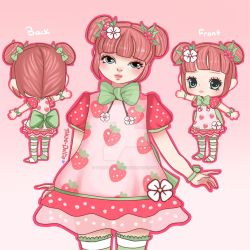 Strawberry Girl for LP by Tokyo-Dollie