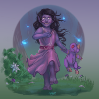 Little Spiritcaller by SoftlyVoiced