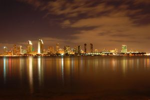 San Diego night view I by esee