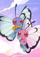 Butterfree duo Poster