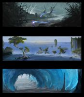environment concept by Fenrir--the-2nd