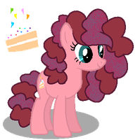 MLP Party Cake by SpeedPaintJayvee12
