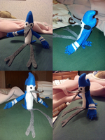 Mordecai Plush (I'm For Sale) by xCailinMurre