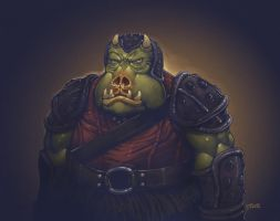 gamorrean guard by redeve