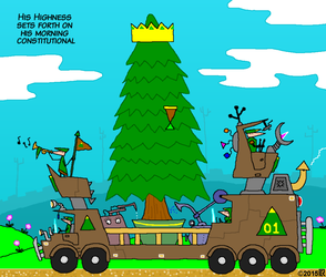 Tree king cartoon by geoduck42