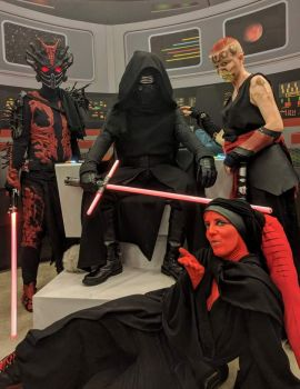 The Sith Lords by Tionniel