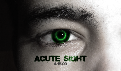 Acute Sight Movie Poster by bl00db4th7