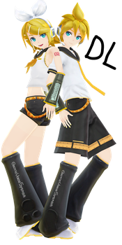.:Koron Kagamine Rin and Len DOWNLOAD:. by Minnemi