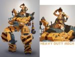 Heavy Duty Mech by red--fox