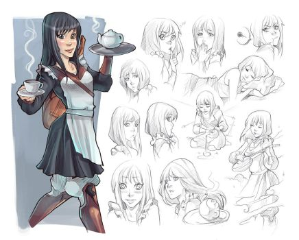 Dorytha, character sketch by AndronicusVII