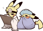 Get well Pika by Gatodae