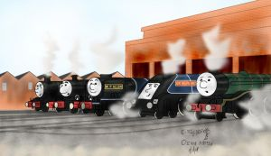 Britannia Rules the Rails by QwertyChris