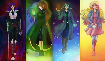 Team Insanity Pantheon (Without Angel) by MidnightDash2137